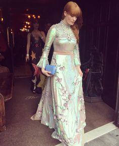 Florence Welch and Dakota Johnson heading to the Met Gala 2016