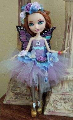 Fairy Ballerina Outfit for Ever After High Dolls *doll not included  #Dolls