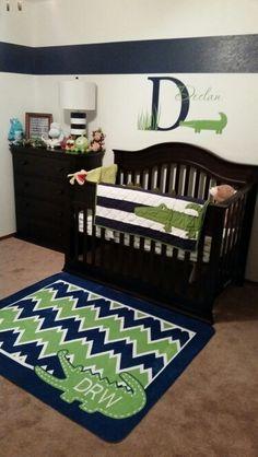 Baby S Room Alligator Showers Nursery Crane