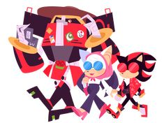i dunno team dark/shadow the hedgehog/rouge the bat/e 123 omega - sega squad Sonic Funny, Sonic Fan Art, Sonic Boom, Sonic The Hedgehog, Shadow The Hedgehog, Comic Pictures, Cute Pictures, Rouge The Bat, Sonic Mania