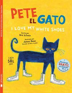 Pete el gato es un fenómeno de la literatura infantil en EE. UU. desde su primera publicación. Su primera historia, I Love My White Shoes, es optimista, enérgica, ¡y completamente adictiva! Pete se ha comprado unos preciosos zapatos blancos pero en su paseo encuentra diferentes obstáculos que tiñen sus zapatos de muchos colores. Pero él no pierde nunca el buen humor y canta su canción en inglés... siempre.