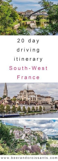 Motorhome touring in France is great fun and good for the budget too. Read on for our 20-day itinerary in South-West France. France in a motorhome routes | Travelling France in a motorhome | Campervan travel in France | Camper travel in France | Travelling through France in a motorhome #motorhome #RV #Camper #Campervan #France