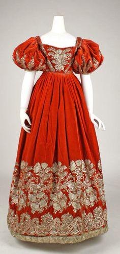 Court dress ca. 1828