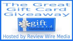Check out all the Gift Cards being offered in The Great Gift Card Giveaway!