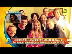 Florencia Peña habló con Jorge Rial tras su internación