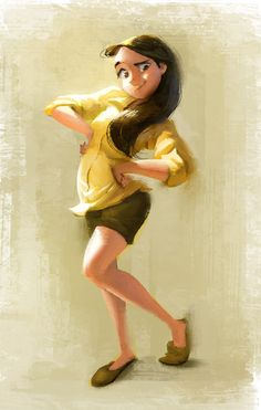Color days!, Wanchana Intrasombat on ArtStation at https://www.artstation.com/artwork/LkJPl