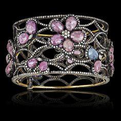 Color Me Happy Cuff - JYOTI  #color #happy #collection #cuff #bracelet #designer #JYOTI #couture #jewelry