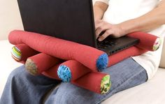 a comfy laptop pillow