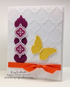 Summery Mosaic Madness with How To Video, Kay Kalthoff is Stamping to Share with Stampin' Up!
