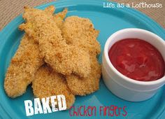 Baked Chicken Fingers - Life In The Lofthouse