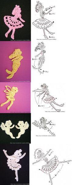 New Crochet Patrones Tejido 42 Ideas Filet Crochet, Crochet Motifs, Crochet Amigurumi, Freeform Crochet, Crochet Diagram, Crochet Chart, Thread Crochet, Irish Crochet, Crochet Dolls