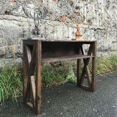 Купить Стол ESPRESSO. - коричневый, гримерный стол, стол визажиста, стол из дерева