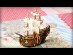 Polymer Clay Mini Ship Tutorial