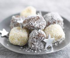 #Guimauves aux deux chocolats et au #coco