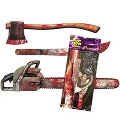 Bloody Weapon Cut Outs from Windy City Novelties