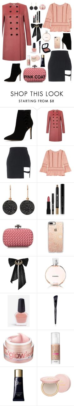 """Dusty Rose"" by beleev ❤ liked on Polyvore featuring ALDO, Hobbs, Chelsea Flower, Astley Clarke, Forever 21, Bottega Veneta, Casetify, Oscar de la Renta, Chanel and Arbonne"