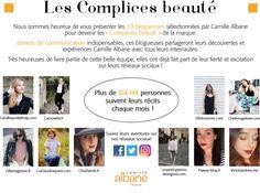 Les complices beauté Camille Albane