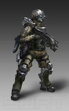 SWAT Officer by Xeno