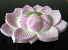 Japanese Sweets, 落雁(蓮の花)