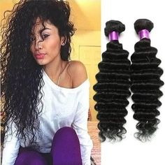 Wholesale-Brazilian Virgin Hair Water Wave Brazilian Hair Deep Wave Weave Bundles Wet And Wavy Virgin Brazilian Curly 3Pcs Lot Human Hair Ex - Brought to you by Avarsha.com