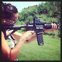 #Repost @brass_loving_brunette ・・・ #TBT 2013 my first shot EVER of an AR that was a good day!  #AR #rifle #gun #guns #gunlove #igguns #igmilitia #tactical #gungirl #girlswhoshoot #dailybadass #gunchannels #slingersclub #gunslinger #pewpew #fwtt #me #ar15