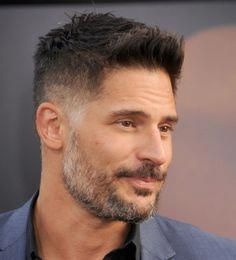 Popular Haircuts For Short Hair Men Mens Hairstyles With Beard, Side Hairstyles, Hair And Beard Styles, Joe Manganiello, Popular Haircuts, Cool Haircuts, Haircuts For Men, Men's Haircuts, Easy Hair Cuts