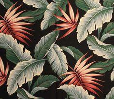 vintage style barkcloth