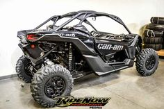 New 2017 Can-Am Maverick X3 X DS Turbo R ATVs For Sale in Arizona. 2017 Can-Am Maverick X3 X DS Turbo R, 2017 Can-Am® Maverick X3 X DS WARP TIME AND TERRAIN <p>The X3 X ds Turbo R is all about control, with fully-adjustable FOX 2.5 Podium RC2 HPG Piggyback shocks, with front and rear dual-speed compression and rebound settings for unparalleled flexibility on any terrain, with any driving style.</p> Features may include: <ul><li>154 hp turbocharged and intercooled Rotax® ACE engine</li></ul…