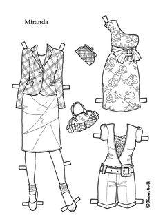 Miranda 003 - tøj