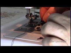 Как поставить лапку улитку на бытовую швейную машинку.Видео №48. - YouTube