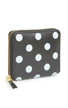 Comme des Garcons Polka Dot French Wallet