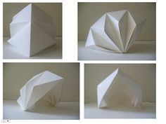 folding structures paper - Buscar con Google