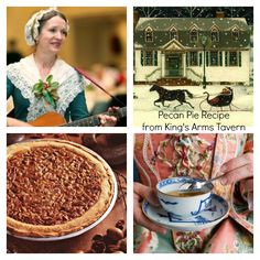 I've spent many Christmases working at Colonial Williamsburg and loved every minute of it.Getting caught up in the festivities, it made Christmas away from home more like a labor of Love. Williamsburg Christmas, Colonial Williamsburg, Pastry Crust Recipe, Colonial Recipe, Frozen Pastry, Baking Packaging, Spoon Bread, Medieval Recipes, Southern Christmas