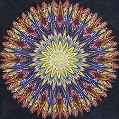 Paula Nadelstern kaleidoscope quilt, 2012 workshop
