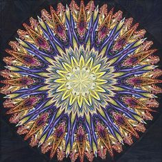 Paula Nadelstern kaleidoscope quilt, 2012 workshop