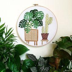 Sarah Benning embroidery