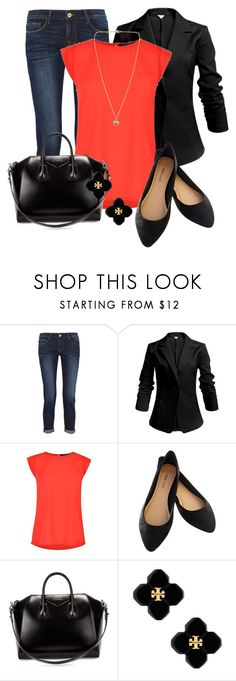 """""""Professional Wardrobe for All Ages Outfit: 54"""" by vanessa-bohlmann ❤ liked on Polyvore featuring Frame, French Connection, Wet Seal, Givenchy, Tory Burch and Michael Kors"""