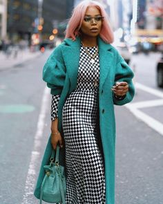 Chic Outfits, Trendy Outfits, Fashion Outfits, Womens Fashion, Black Girl Fashion, Fashion Looks, Fall Winter Outfits, Winter Fashion, Street Chic