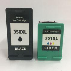 Pour HP 350 351 Cartouche D encre Pour HP Photosmart C4200 C4480 C4280  C4400 C4580 cf7971e31ce6