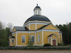 Luumäen kirkko. Kuva: MV/RHO 124603:195 Soile Tirilä 2006