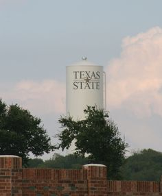 Texas State Water Tower in Round Rock, Texas