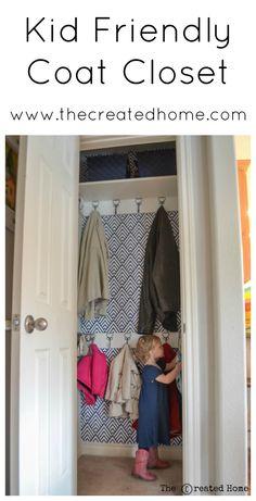 Easy Coat Closet Remodel