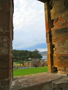 Historic convict settlement Port Arthur