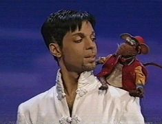 Prince appears on the Muppets. Episode 201.