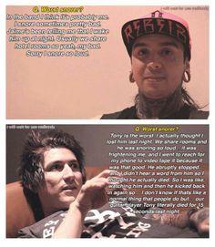 """Jaime & Tony from PTV, """"Tony just died for 15 sec that night"""" hahaha"""