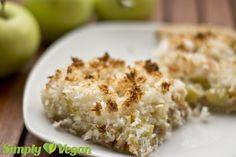 Apfel-Kokos-Kuchen von simply-vegan, lecker lecker!