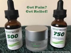 Lots of choices for pain relief! I used up the entire jar fast! As a side note, I think the 750 mg CBD oil works equally great, if not better, than the Relief cream on my aches & pains. When I ran out of the Relief cream, I switched to the CBD oil. I'm loving it!