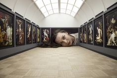 Put Your Head into Gallery | The Louvre
