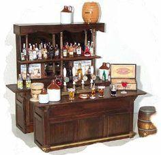 dollhouse miniature pub bar - Google Search