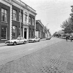 Voormalig Hoofdbureau van Politie aan de Lange Nieuw straat 55 in 1983